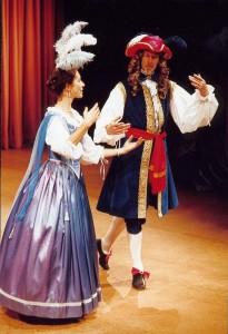 Fiona & John ~ baroque dance