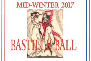 The Early Dance Consort 2017 Mid-Winter Bastille Ball, 14 July
